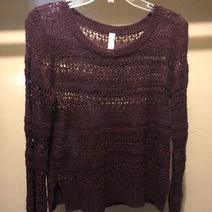 M knitted sweater
